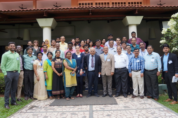 Participants of the Knowledge Integration Workshop held in Bangalore, December 2019