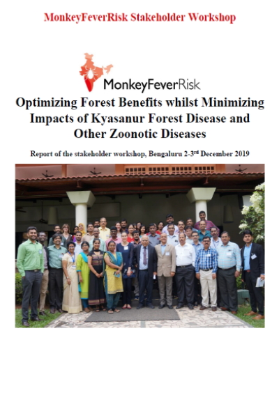 Report of the Knowledge Integration Workshop, held in Bangalore in December 2019